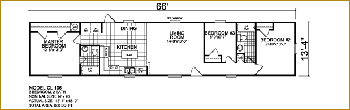 Trailer Single wide floor plans | Manufactured Home Floor Plans